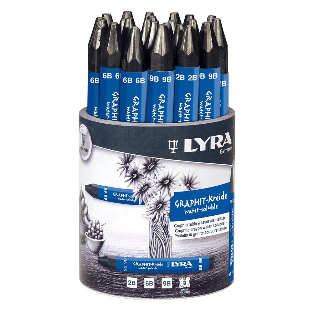 LYRA リラ グラファイト水性クレヨンセット 24本 L5633240