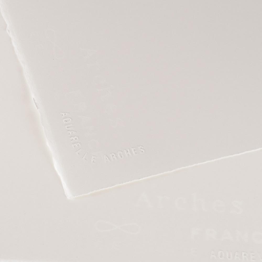 マルマン 輸入スケッチブック アルシュ水彩紙 シート 560×760mm 極細 300g/m2 10包入 1795017
