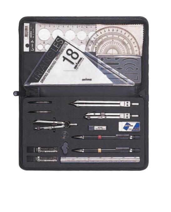 数量限定 DRAPAS ドラパス オール イン ワン製図器 18品 No.05-3502 7本組 期間限定の激安セール