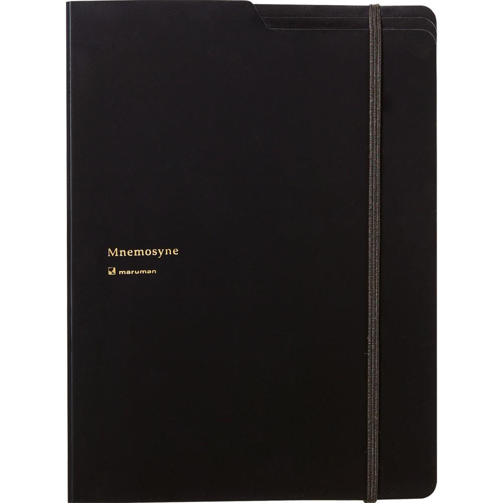 マルマン ノートパッド&ホルダー ウィズ5ポケッツ  Mnemosyne ニーモシネ A4 HN187FA 5冊
