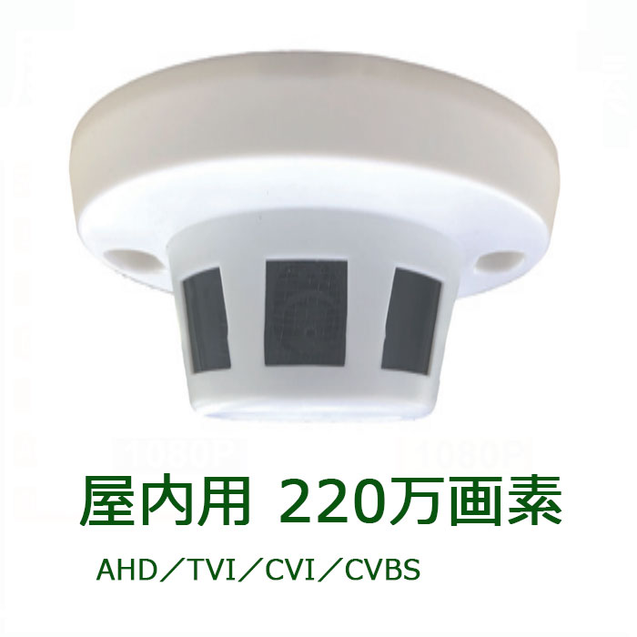 220万画素 フルHD(1920x1080) 屋内用防犯カメラ ITC-JK503II (Sony製CMOS itcjk503ii 火災)