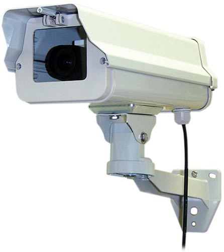ダミーカメラ 本格派 屋外用ダミー防犯カメラ IT-372(IT372)