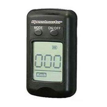 小型スピードガン スピードマスター SPM-001 ゴルフクラブ、バットのヘッドスピード、テニスのスイングスピード計測に最適 (spm001 速度計 練習)