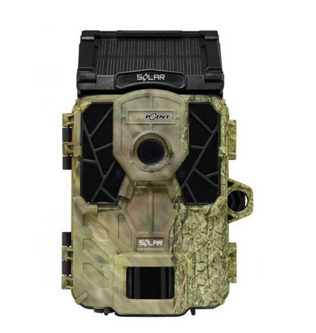 SDカードレコーダー搭載トレイルカメラ フィールドカメラ SPY-POINT SOLAR 動物の撮影等に最適 (静止画1200万画素 動画92万画素 赤外線LED 夜間撮影)