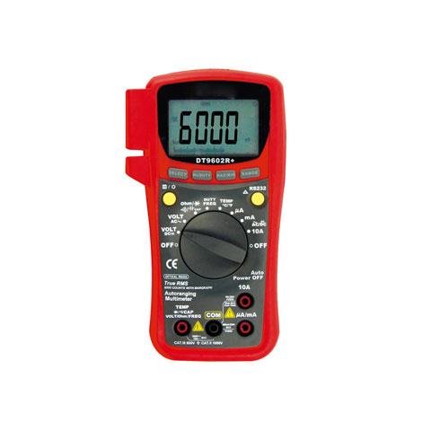 送料無料 卸売り パソコン通信機能搭載 正規逆輸入品 DT9602R マザーツール PC対応デジタルマルチメータ DT-9602Rプラス