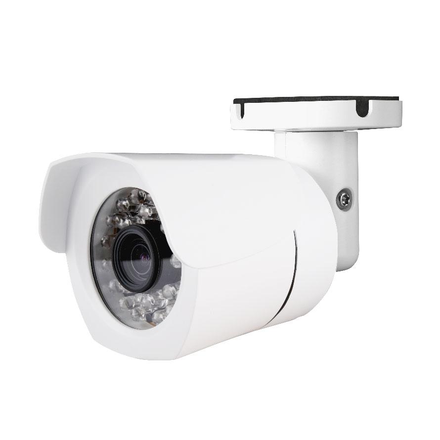 PoE対応 フルHD2メガピクセル屋外IRバレット型ネットワークカメラ catFC-W1025 (200万画素 ip66 有線LAN 赤外線LED)