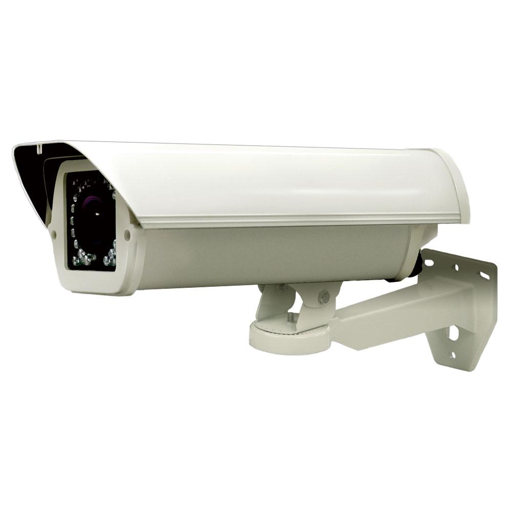 街頭防犯向き赤外線LED搭載 屋外対応ネットワークカメラ 【catFH-C400】 (赤外線30m SDカード録画)