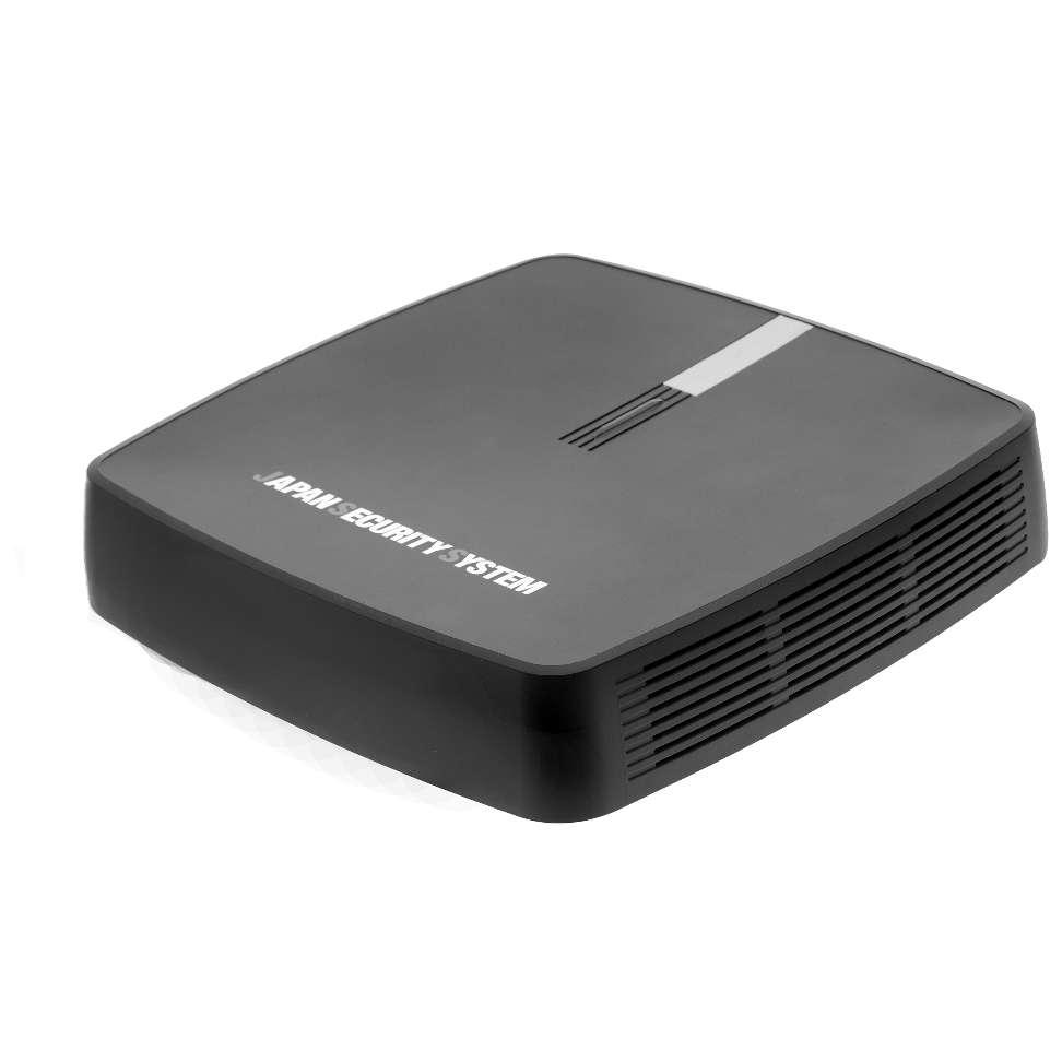 PoE給電ポート搭載 フルHD 4CHネットワークビデオレコーダー catFR-W004 4TB-HDD搭載 (200万画素 NVR 録画装置 防犯カメラ 監視カメラ)