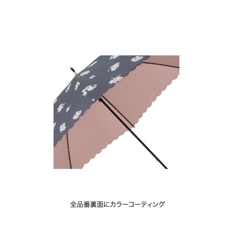 【Wpc.公式】折りたたみ傘T/C遮光ピュアリティフラワーmini【日傘傘UVカット遮光晴雨兼用レディース】