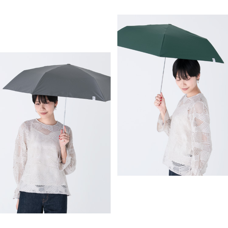 【Wpc.公式】オンライン限定折りたたみ傘オールウェザーパラソル【日傘傘UVカット遮光晴雨兼用レディース】