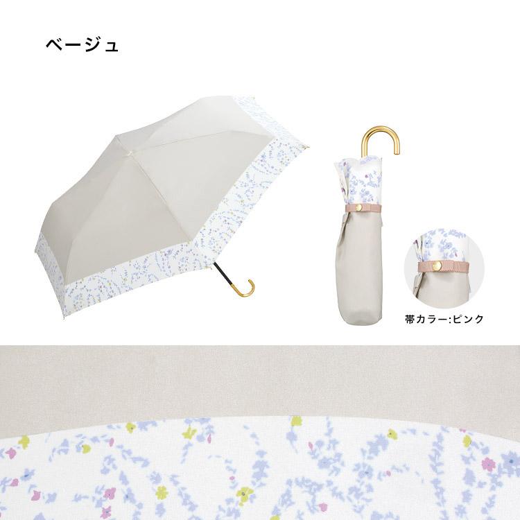 ギフト対象【Wpc.公式】折りたたみ傘リムペイズリーmini【雨傘傘雨傘はっ水撥水晴雨兼用レディース】
