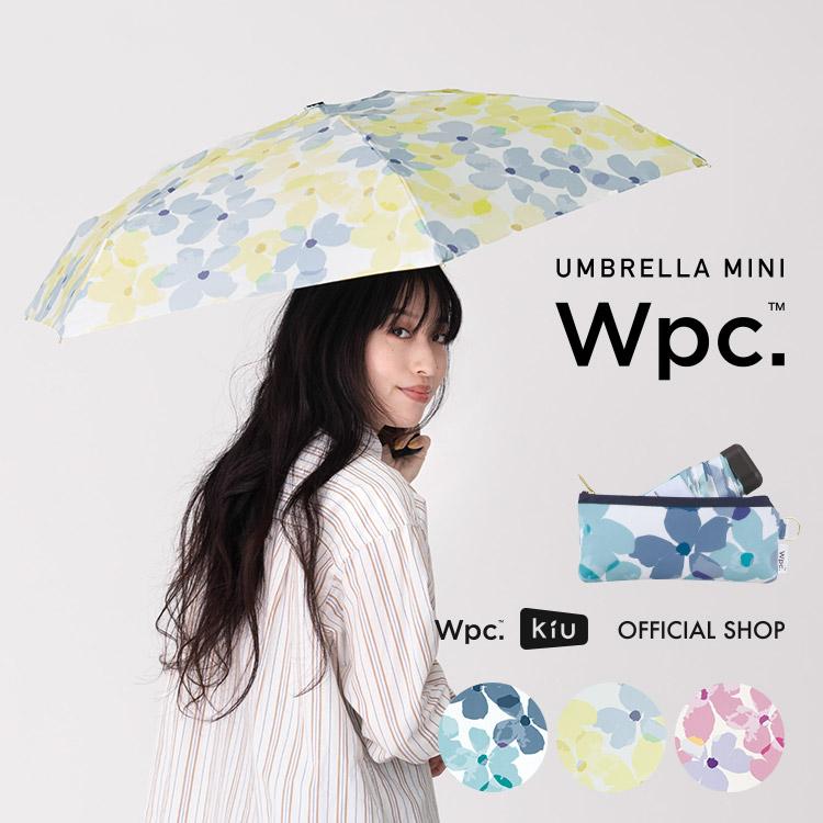 【Wpc.公式】折りたたみ傘クレマチスmini【雨傘傘雨傘はっ水撥水晴雨兼用レディース】