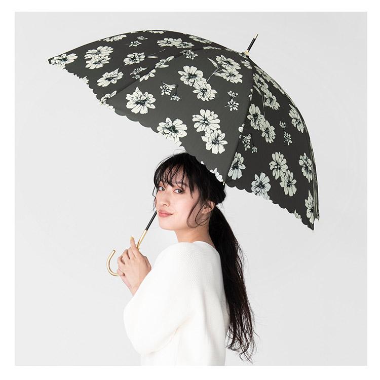 【Wpc.公式】長傘ジニア【雨傘傘雨傘はっ水撥水晴雨兼用レディース】
