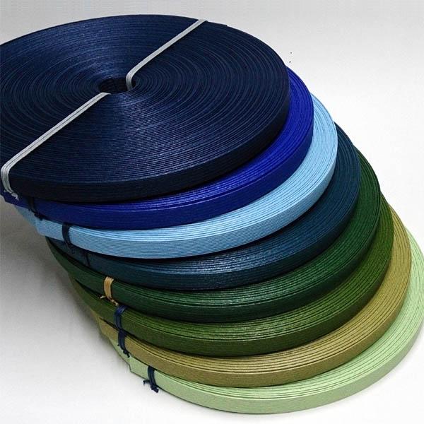 手芸用クラフトテープ 紙バンド(クラフトバンド・クラフトテープ)50m 「ブルー・グリーン系」