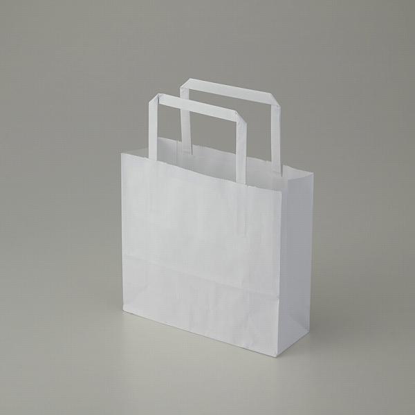 テイクアウト 雑貨 お菓子にぴったりの持ち手付き袋業務用のリーズナブルな手提げ袋です 安心と信頼 W18xD6xH16.5cm 紙袋 手提げ HEIKO 25CB ラッピング 50枚入 H25チャームバッグ 晒白無地 シモジマ 18-2 毎日がバーゲンセール