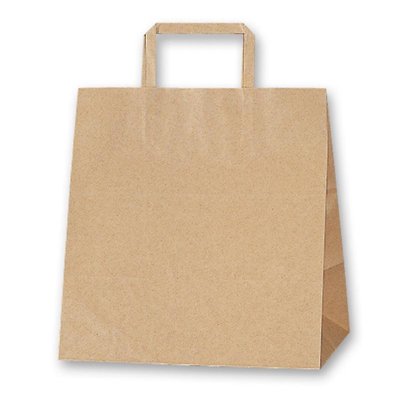定番の人気シリーズPOINT ポイント 入荷 テイクアウト お菓子 マート 業務用にぴったりの持ち手付きクラフト袋業務用のリーズナブルな手提げ袋です W30xD21xH37cm 紙袋 手提げ HEIKO シモジマ 25CB 未晒無地100g 50枚入 W-2 H25チャームバッグ ラッピング