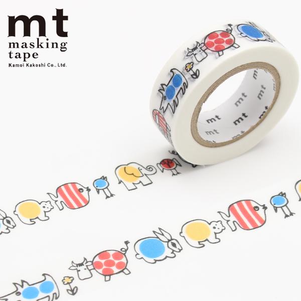 マスキングテープ マステ mt カモ井加工紙 mt x リサ・ラーソン(リサラーソン) ベイビーマイキー(15mm×10m)MTLISAA09・1巻
