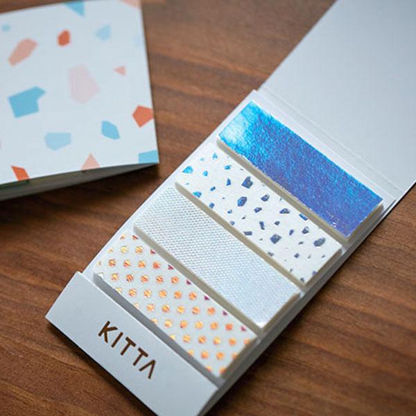 キングジム KING JIMちいさく持てるマスキングテープ マステKITTA キッタカケラ 10枚×4柄 KITL004