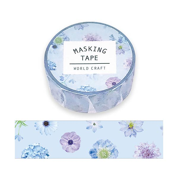 マスキングテープ マステ  ワールドクラフト ANNIVERSARY MT15-032(15mm×7m)