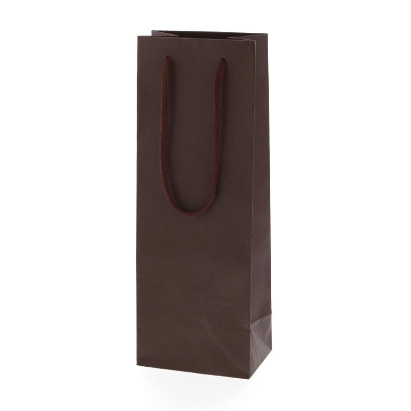 手芸クラフトのラッピング倶楽部 紙袋 手提げ HEIKO シモジマ 10枚入り ブラウン カラーチャームバッグ 期間限定送料無料 最新アイテム ワインL ラッピング
