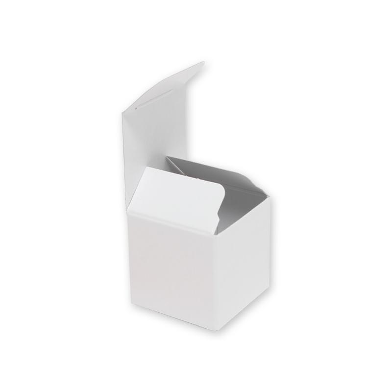 size内寸法:40×40×40mmラッピング・梱包用品(TOP) 箱類 白無地箱 洋品箱 HEIKO シモジマ 白無地BOX H-75 サックラッピングギフトボックス