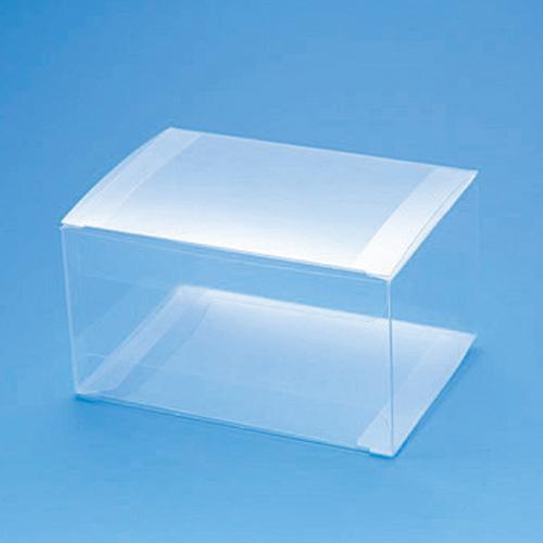 手芸クラフトのラッピング倶楽部 箱 透明ボックス HEIKO シモジマ クリスタルボックス W-1(10枚入)