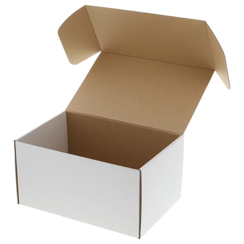 手芸クラフトのラッピング倶楽部 箱 10枚入 組立HEIKOシモジマフリーボックスF-78 ギフトボックス ラッピング箱 収納 梱包資材 段ボール小型 ダンボール フリマ ハンドメイド
