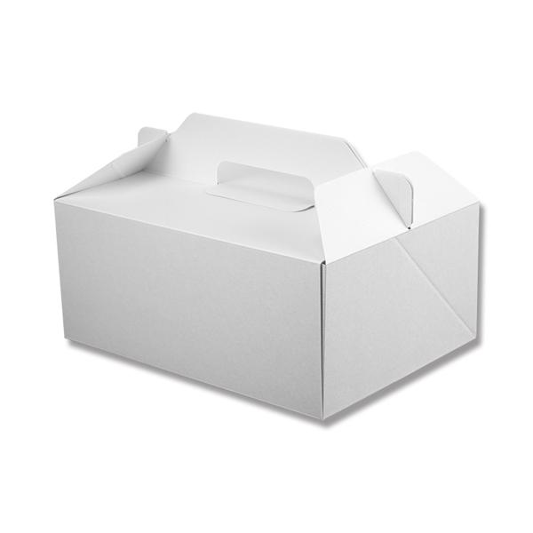 手芸クラフトのラッピング倶楽部 スーパーSALE10%OFF 箱ケーキ箱HEIKOシモジマ食品包材Nキャリーケースホワイト18x24 おすすめ特集 25枚入 安い 激安 プチプラ 高品質
