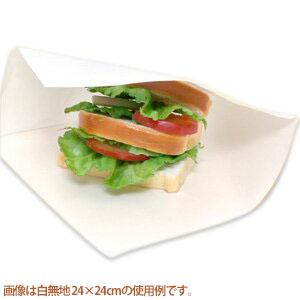 業務用 大型ハンバーガーやクレープ ケバブ等におすすめ 持ちやすく 手を汚さずに食べられます バーガー袋 税込 在庫限り ハンバーガー袋 白無地 シモジマ HEIKO 22x22cm 100枚入り