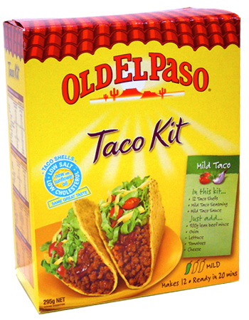 Mexican food Taco Kit