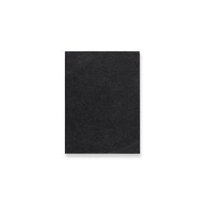 ラッピング商品保護用として最適★そのままリボンを結んでギフトバッグとしても使えます!W125xH170mm 不織布バッグ HEIKO シモジマ Nノンパピエバッグ 黒 12.5-17(100枚入)