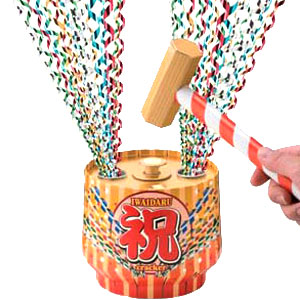 くす玉にクラッカー…パーティーがもり上がる、パーティーグッズのおすすめはどれ?