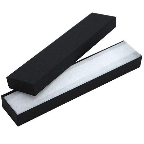 アクセサリーのギフト 収納に 用途の広いフリータイプ ネックレスやブレスレットにピッタリサイズ ジュエリーケースアクセサリーケース フリータイプ N89 購買 紙製 AL完売しました 黒