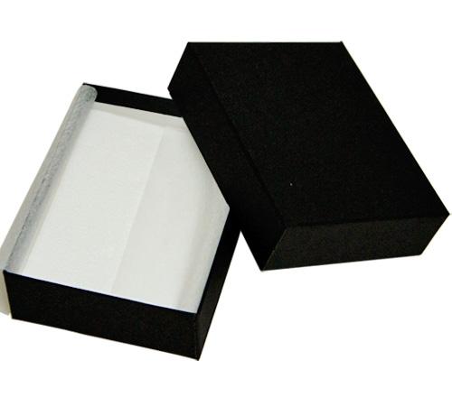 アクセサリーのギフト 収納に 無料 用途の広いフリータイプ 大き目のペンダントトップやブローチにも ジュエリーケースアクセサリーケース B88 フリータイプ 黒 紙製 価格交渉OK送料無料