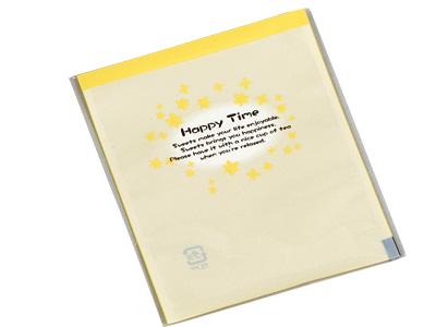 規格袋 花 イエロー2 ラッピング袋 ラッピング用品 メイルオーダー 包装 ギフトラッピング 業務用 ラッピングバッグ プレゼント おしゃれ かわいい お菓子 オリジナル