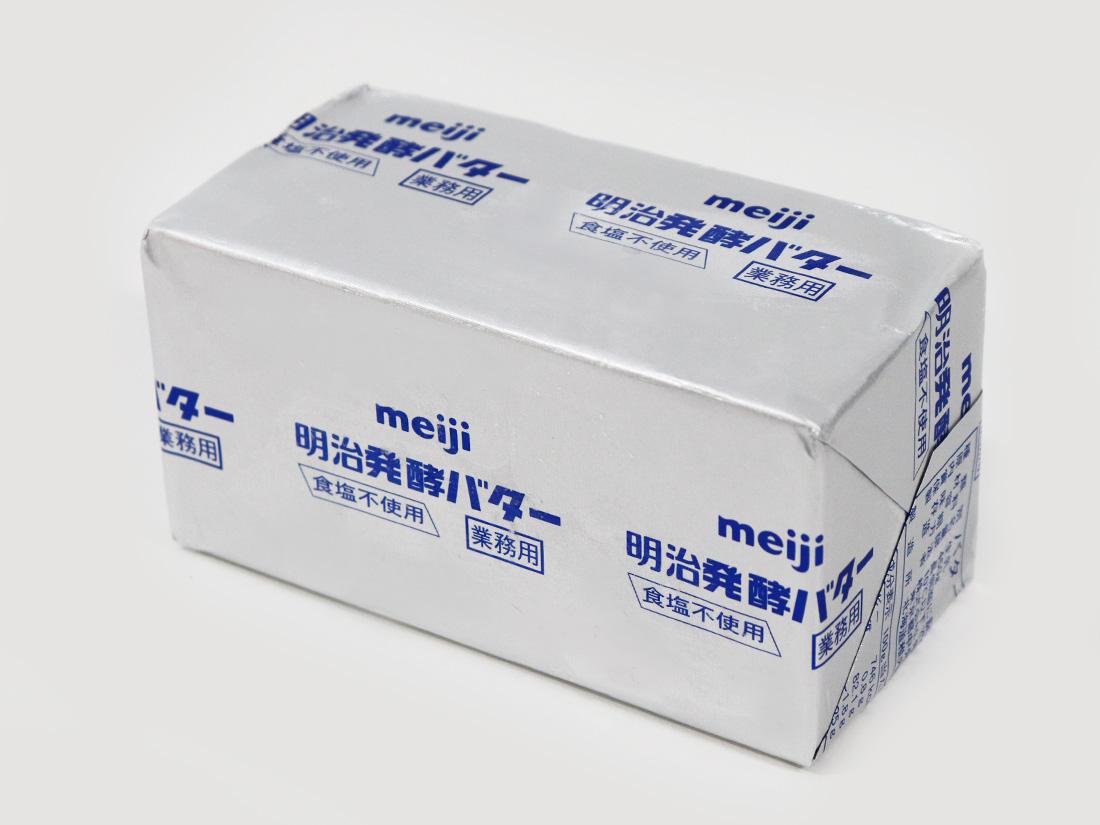 《冷凍冷蔵》明治 発酵バター 無塩 450g