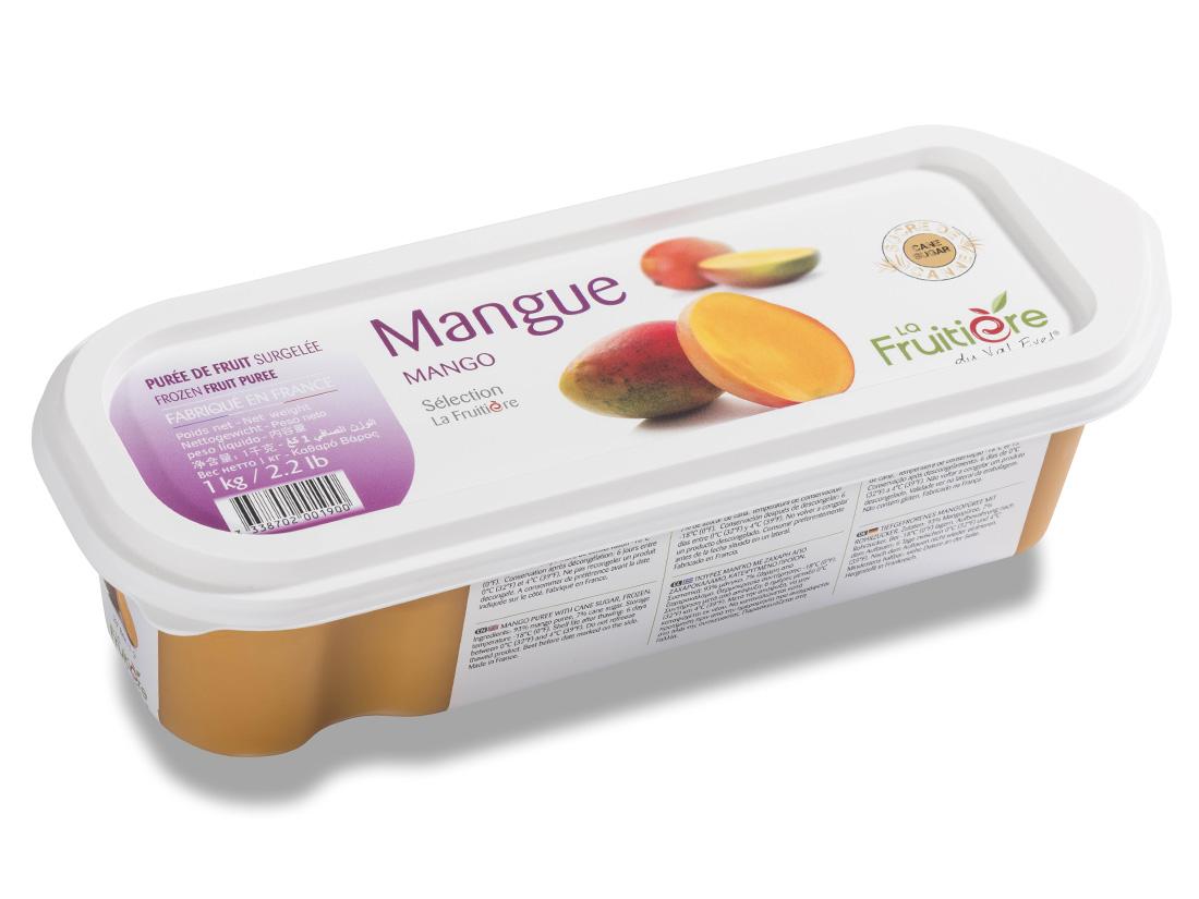 日本正規代理店品 ラ 期間限定特別価格 フルティエール マンゴーピューレ 1kg 冷凍 ピューレ 焼菓子 フランス料理 製菓材料 ピュレ 料理 タルト