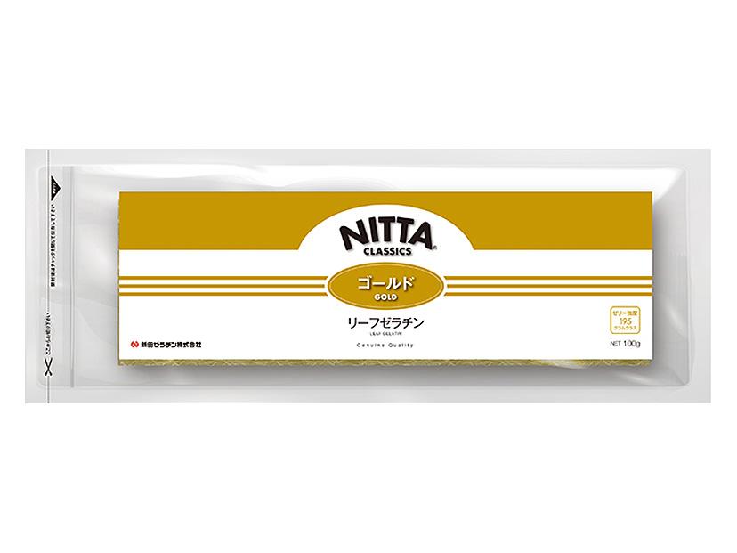 新田ゼラチン リーフゴールド 100g 直輸入品激安 低価格化