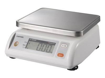 防水デジタルはかり CS-5000WP 5kg