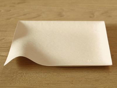 【 WASARA ワサラ 角皿(大) 6枚入 】 紙皿 紙の皿 紙の器 使い捨て アウトドア パーティ 容器 オシャレ