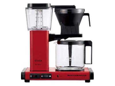 モカマスター コーヒーメーカー(レッド) MM741AO-RD