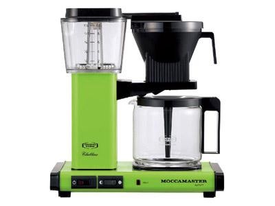 モカマスター コーヒーメーカー(フレッシュグリーン) MM741AO-FG
