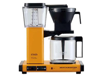 モカマスター コーヒーメーカー(イエローペッパー) MM741AO-YP