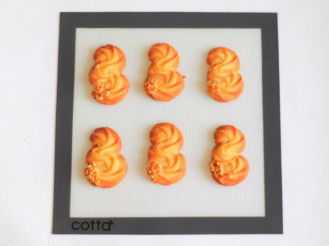 cotta シルパット 270×270 洗える 繰り返し使用可 シリコンマット ベーキングシート ベーキングマット クッキー シート 5☆好評 焼型 シリコン型 お菓子作り メッシュ 高品質 焼き菓子 超目玉