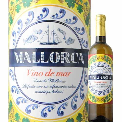 地中海の宝石マヨルカ島の 海のワイン 18%OFF マヨルカ ヴィノ デ マール ボデガス ビ レイ 2019年 スペイン ハロウィン 家飲み ワイン 750ml 12本単位のご購入で送料無料 ソムリエ マヨルカ島 辛口 マーケティング 白ワイン ギフト