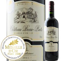 城堡·波特·pyui 2011年法國波爾多紅葡萄酒全部的身體750ml