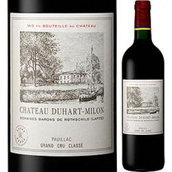 シャトー・デュアール・ミロン・ロートシルト 2007年 フランス ボルドー 赤ワイン フルボディ 750ml 【12本単位のご購入で送料無料/ギフト・プレゼント対応可】【ギフト ワイン】【ソムリエ】【お歳暮 ギフト】