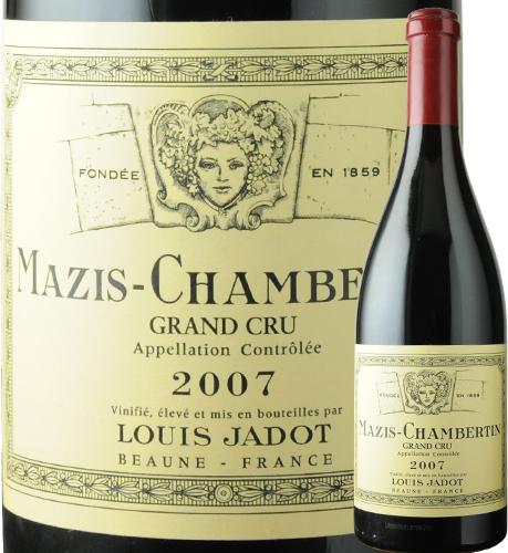 マジ・シャンベルタン ルイ・ジャド 2007年 フランス ブルゴーニュ 赤ワイン フルボディ 750ml【12本単位のご購入で送料無料】【ギフト ワイン】