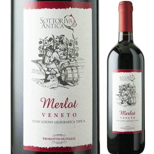 ソットリーヴァ・アンティカ・メルロ 2016年 赤ワイン