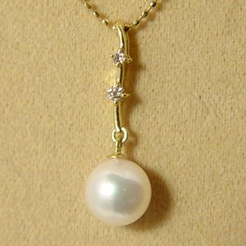 「あこや本真珠 パールペンダントトップ7.0-7.5mm」[n5]
